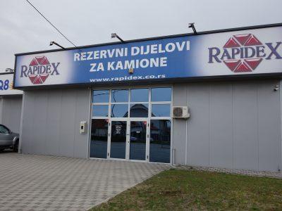 Poslovnice u Bosni i Hercegovini za ponos Rapidex-a