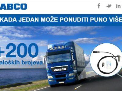Smanjite skladište i prodajte pametno uz WABCO