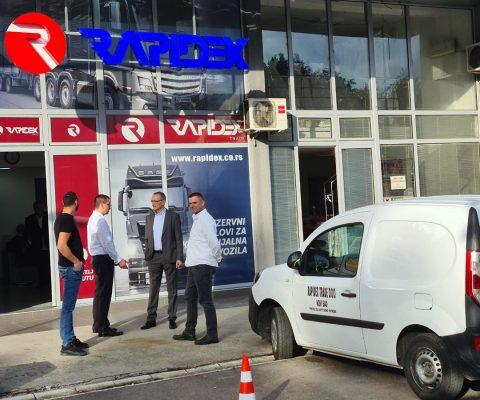 Rapidex stigao i u Valjevo