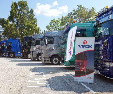 Rapidex Trade prvi put na velikoj smotri kamiona na Novosadskom sajmu